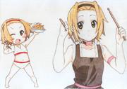 【色鉛筆模写】8月21日!律っちゃん お誕生日おめでとー♡
