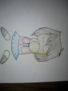 真崎杏子16歳をパワ体で落書きしてみる