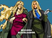 BLACKLAGOON×HELLSING