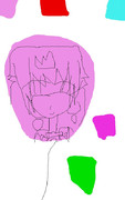 風船ピーチ姫