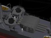 「松」 九二式61cm4連装水上発射管