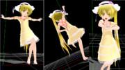 ちびちゃんの夏服シリーズ その8 ネル・サマードレス2