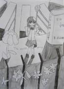少女の思い描く世界の春。