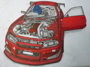 R34 スカイラインGTR