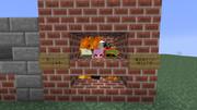 Minecraft 知り合いの鯖で焼き土下座