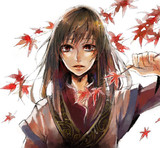 紅葉かつ散る