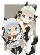 エイラとサーニャ