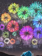幻想郷の花火大会