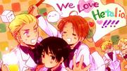 We LOVE ヘタリア!