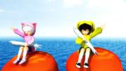 イクラボートでシラス食べながら海の散歩