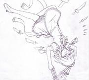 【授業中に描いてみた】咲夜さあああああん!!