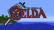 【Minecraft】ゼルダの伝説のロゴをつくってみました。