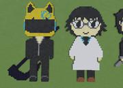 [Minecraft]セルティ&新羅