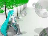 【MMD×Blender】初音ミク