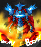 アイアンマン - 青天白日型