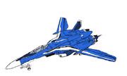【落書き】VF-25G メサイアバルキリー(ミシェル機)