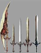 魔剣の大きさ比べ
