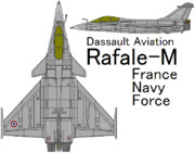 Rafale M France Navy Force