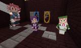 【Minecraft】littleVocalでUTAU三人娘【littleMaidMob】