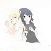 京結 就寝