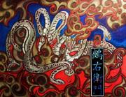 ヤマタノオロチx和彫り風+トライバル(ニコ生にて