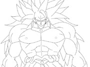 史上最凶の悪魔(線画)