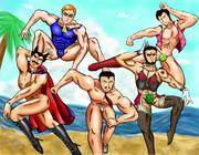 男達の夏休み
