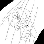 アナログで描いたドラえもん