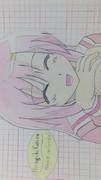 夏休みの宿題で昔描いたヒナギク