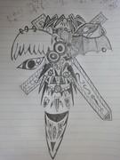 【授業中に描いてみた】14歳の最強武器