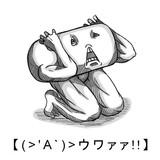 【(>'A`)>ウワァァ!!】