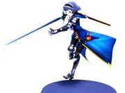 騎士装備の黒ちゃん