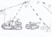 敵機接近!