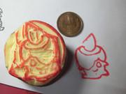 初めての芋彫り