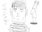 SMAPのメンバーの似顔絵を何も見ず本気で書いてみた。草なぎ剛
