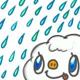 ☂クジラ雲・雨ver.☂