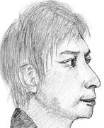 素人がポルノグラフィティの岡野昭仁を描いてみた