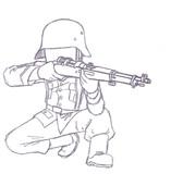 ドイツ国防軍ライフル兵(三八式歩兵銃ver.)