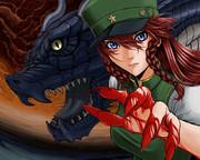 美鈴&ドラゴン