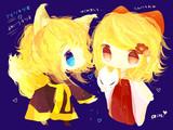 アマツキツネ&嫁入り狐