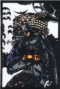 【切り絵】バットマン