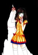 少女と鋏と赤い糸