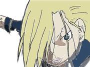 なんとなく描いたオリヴィエ・ミラ・アームストロング少将…