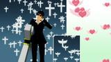 【MME】十字架パーティクルとハート天使パーティクル