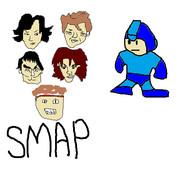 ロックマン&SMAP 【ドスコイ新世界】