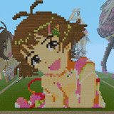 【Minecraft】涼ちんお誕生日記念ドット【アイドルマスター】