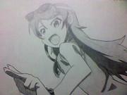 高坂桐乃を描いてみた
