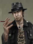 桐生さんに黒田さんのコスプレさせてみた
