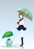 セーラー少女と雨降り宇宙人