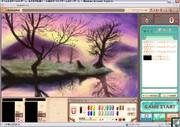 【おえかきの森】風景画【頑張って描いてみた】